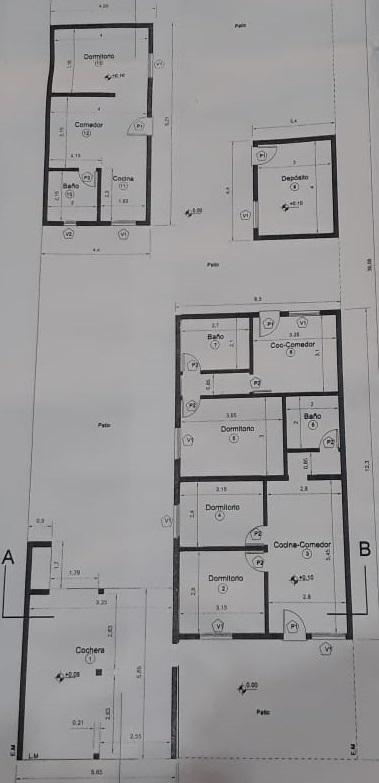 Plano de Complejo Habitacional