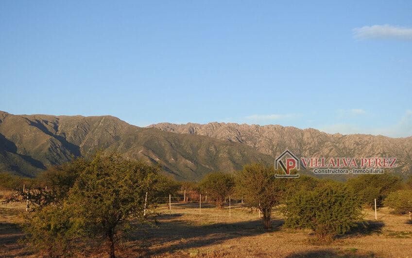 Lote con vista a las sierras en Cortaderas